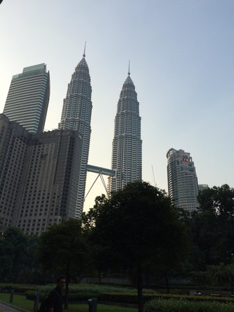 Impiana KLCC Hotel : View from our room 1309