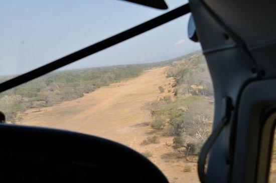 Selous Game Reserve : Pista di atterraggio