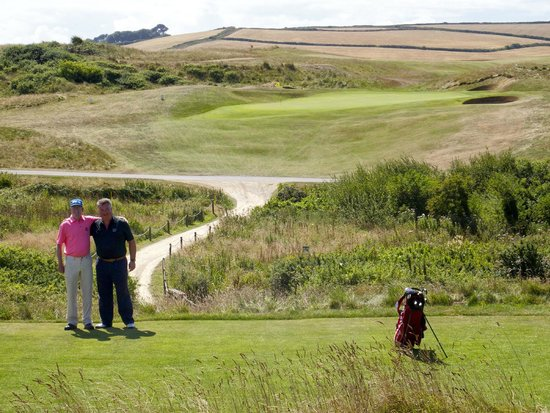 St. Enodoc Golf Course: More stunning scenery....