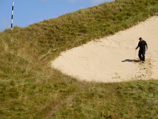 St. Enodoc Golf Course: No easy escape on the 6th....