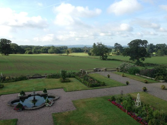 Willington Hall Hotel: view from room 1