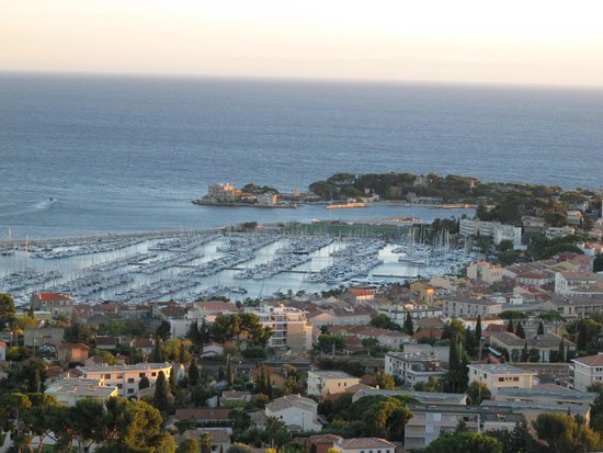 Hotel Le Delos: View from apartment in Bandol