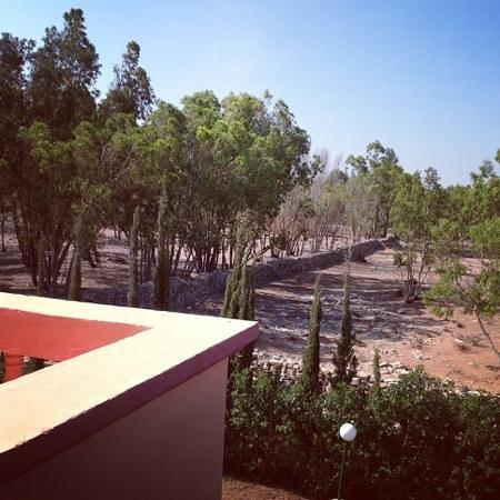 Riad Les 2 Mondes : Vue de la SdB de la Chambre n°14