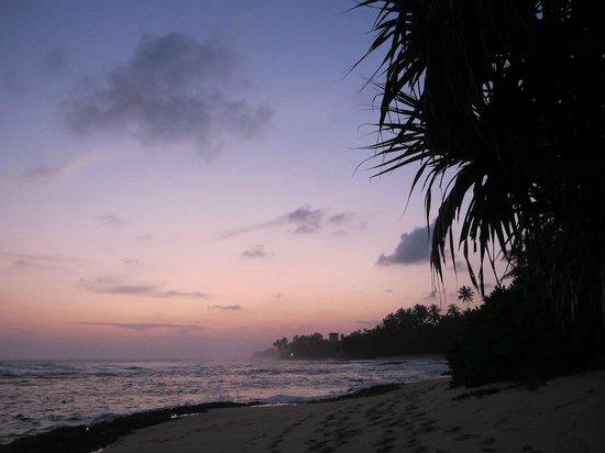 WB Villa: Glorious sunsets at WB