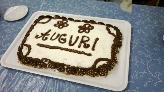Hotel Sorriso: la torta di compleanno luglio 2013