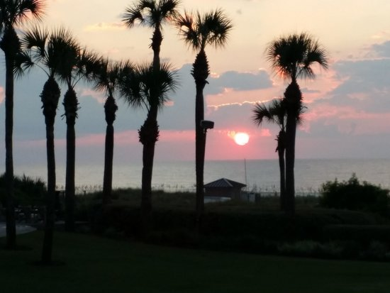 The Ritz-Carlton, Amelia Island: Sunrise in paradise.... Ritz Carlton, Fernandina, FL