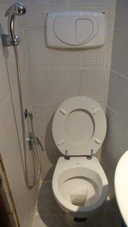 Hotel Roma Mansion: Наша ванная
