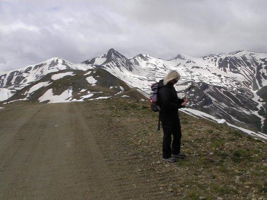 Carosello 3000 - Ski Area Livigno : view of Monte delle Rezze