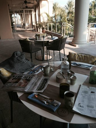 The Ritz-Carlton, Sarasota: Breakfast was so relaxing at Jack dusty