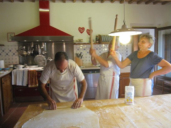 Cooking Classes with Nonna Ciana : This way or else!!!
