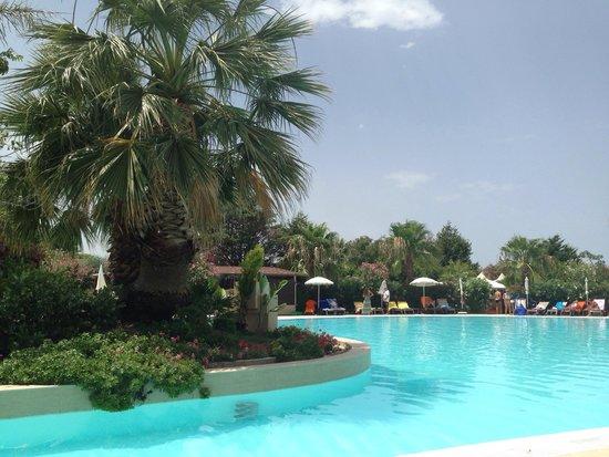 Acacia Resort Parco dei Leoni: L'espace piscine