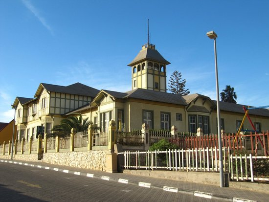 Alte Brucke: Swakopmund City Center ;D