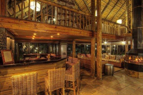 Savute Safari Lodge Bar and Lounge