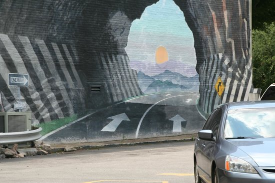 Tunnel Vision Mural