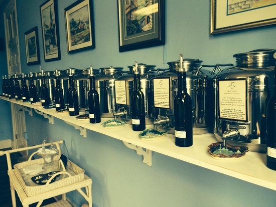 Abingdon Olive Oil Company: Unique and tasting gourmet vintagers