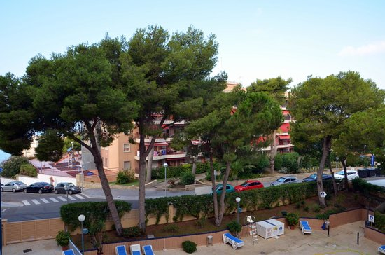 4R Playa Park : widok z balkonu