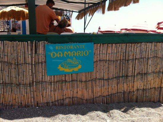 Maronti Beach: Stabilimnto con ristorante sulla spieggia