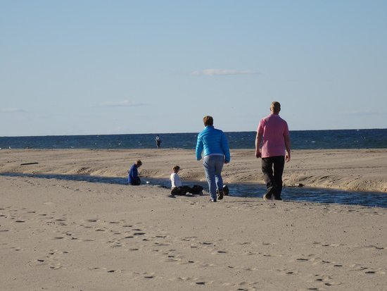 Adventure Bound Camping Resort - Cape Cod: On the beach close to the campground