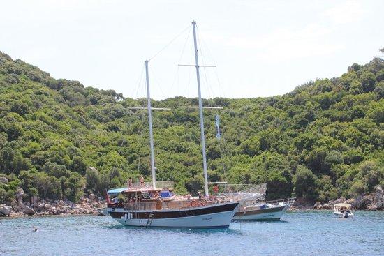 TUI BLUE Marmaris: one of the cruise bays