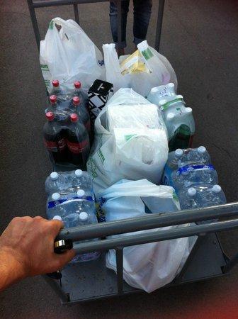 Sporting Club : carrello per trasporto bagagli/spesa