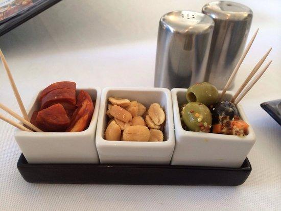 Brasserie Du Roc : Amuses bouche offert
