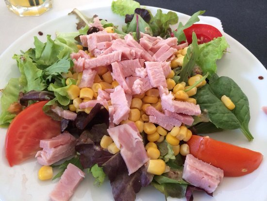 Brasserie du Roc: Salade du menu enfant