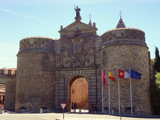 Old moorish bisagra gate picture of puerta de bisagra - Bisagra de puerta ...