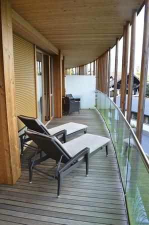 Hotel Der Waldhof: Balkon neuer Trakt