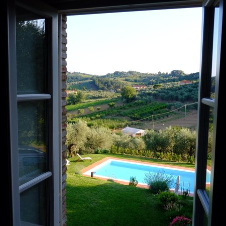 Arliano, Italy: View from the house