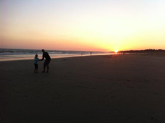 Camping Campéole Les Amis de la Plage : La plage