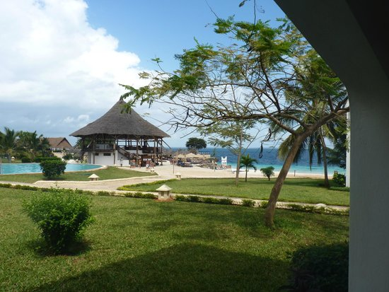 Royal Zanzibar Beach Resort: View from our patio.