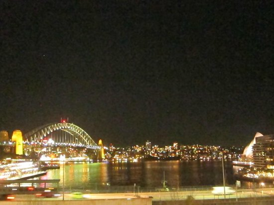 View of Circular Quay from Cafe Sydney patio