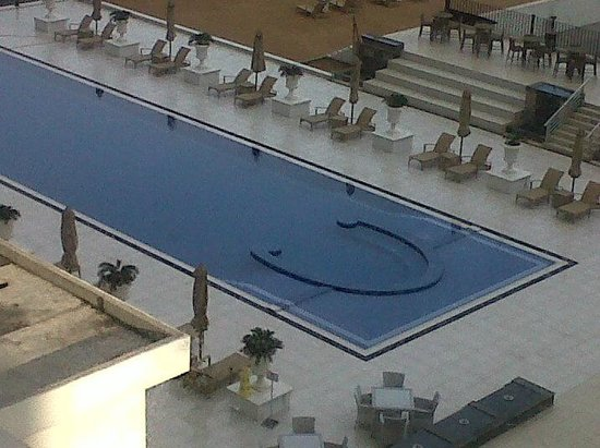 The Kingsbury: View of the Pool from Room