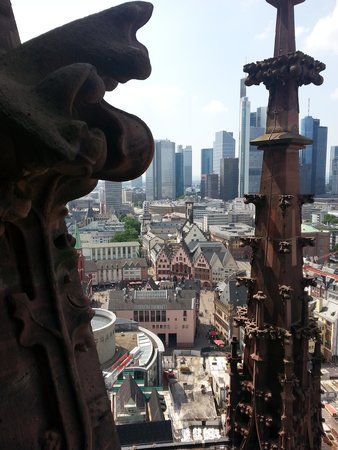Dom St. Bartholomäus: view from the top