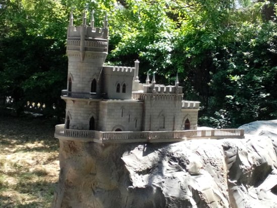 Yevpatoria Park Crimea in Miniature