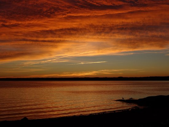 Bar Harbor Campground KOA: Sunset