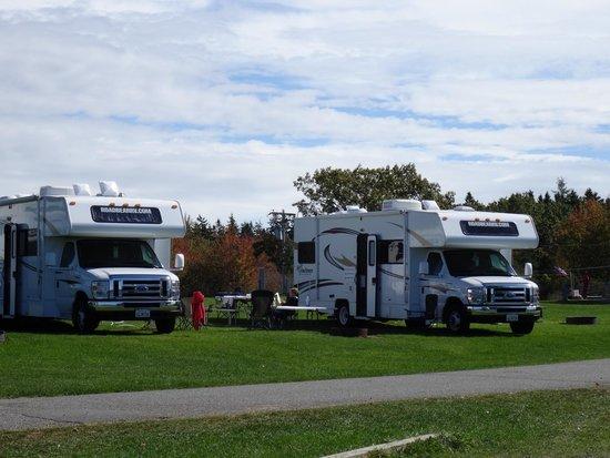 Bar Harbor Campground KOA: Our RV's