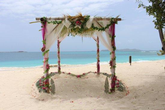 Palm Island Resort & Spa: Wedding Bamboo Gazebo