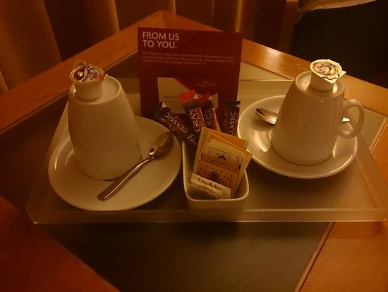 Crowne Plaza Venice East-Quarto d'Altino : コーヒーセットは嬉しいです