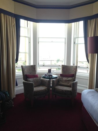 The Bonham Hotel: room seats