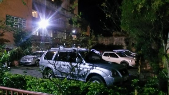 Luz Hotel: Estacionamento