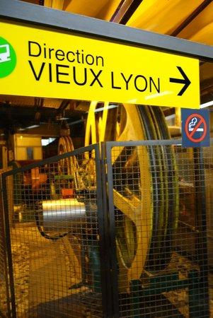 Colline de Fourvière : Funicular