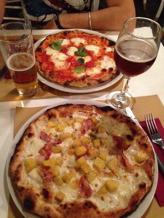 MOMA Pizzeria Romana: Margherita sbagliata & pizza patate
