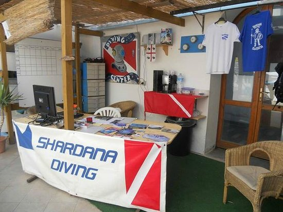 Calasetta, Italy: Interno shardana diving 2