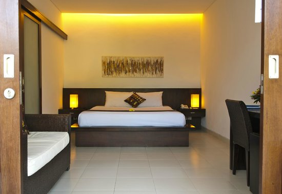 Villa Diana Bali: Our minimalistic styled deluxe room