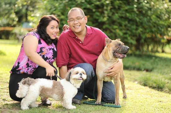 Casa San Pablo B & B: Prenup with our dogs