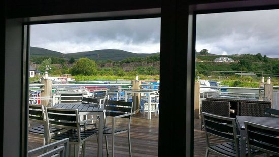 The Boathouse: My breakfast view