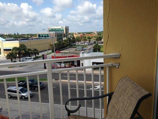 Plaza Resort & Spa: Plaza Oceanview Room - Street