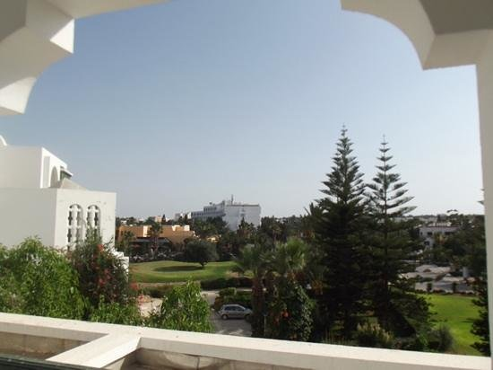 Marhaba Palace Hotel: view from 154