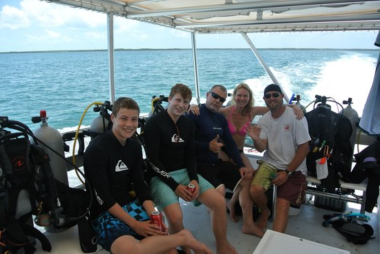 Ocean Divers Bayside : On the dive boat